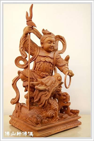 【佛山軒佛俱佛像】迷你龍太子 -原木精雕神像