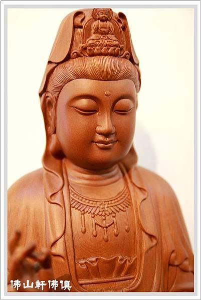【佛山軒佛像佛俱】法慧觀世音菩薩 -台灣梢楠木神像