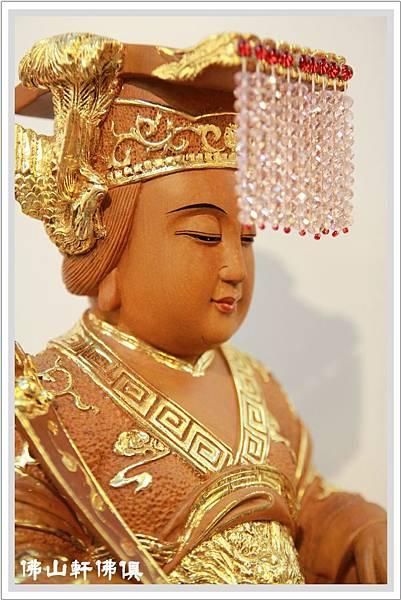 佛山軒佛俱佛像】水鑚天上聖母 -台灣手工神像