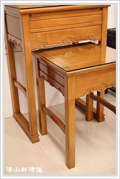 如意寶神桌實木佛桌2