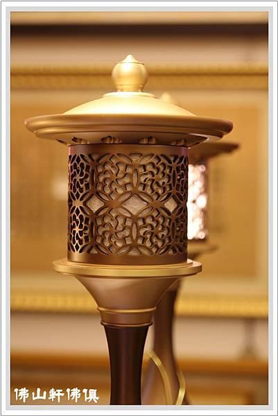 寶華佛俱銅器財源燈2