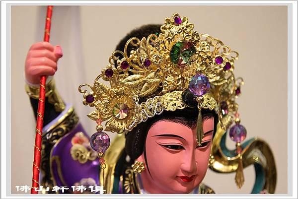 台灣手工九天神像紫袍5