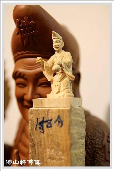 【台灣神像手工藝】超迷你神像客製-1吋8濟公佛像