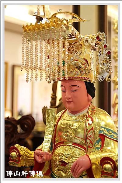 【佛山軒佛俱神像帽】斯華洛水鑚-媽祖珠板帽