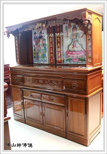 大神桌佛櫥6尺3寬7尺高1