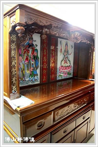 大神桌佛櫥6尺3寬7尺高5