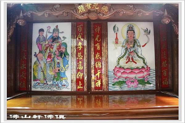大神桌佛櫥6尺3寬7尺高2