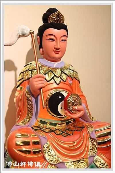 八卦極袍地母神像2