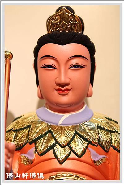 八卦極袍地母神像4