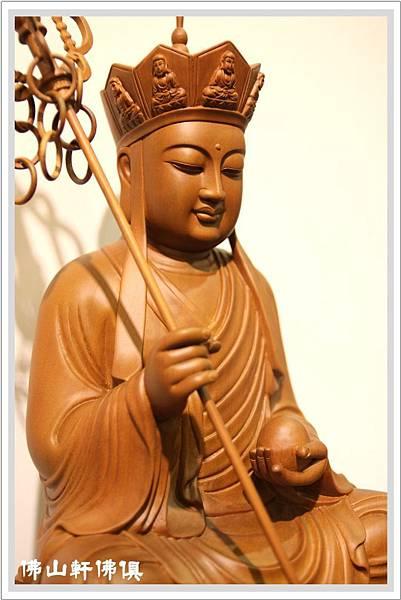 {佛山軒佛俱佛像}地藏王菩薩四方體神像