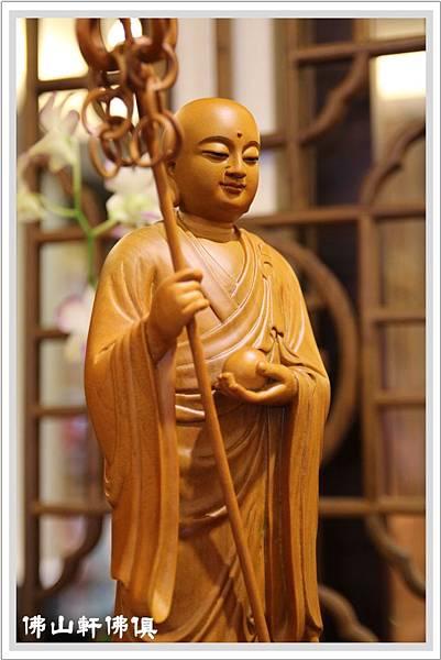 【佛山軒佛具神像】地藏王菩薩出家佛像