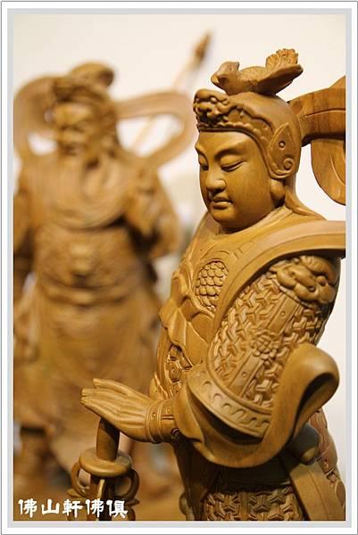 【佛山軒神桌佛具】偉陀神像-伽藍佛像