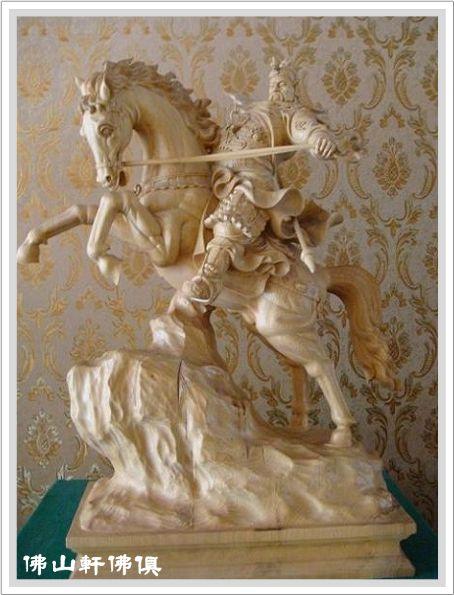 神像界的馬術冠軍-關公騎馬3.jpg