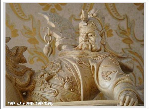 神像界的馬術冠軍-關公騎馬2.jpg