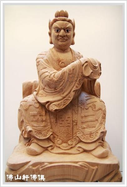 【佛山軒神像佛俱】佛像嚴選精雕客製 - 檜木張天師