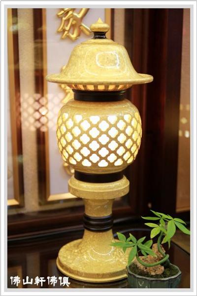 【佛山軒神像佛俱】阿拉金神燈 - 神桌佛具的光明燈
