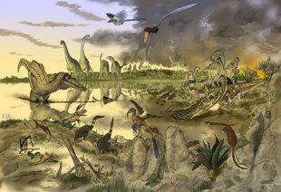 罕見!_沙烏地發現恐龍化石-526d4a47088285c38a0f00fa1662c18d