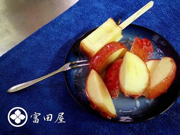 蘋果糖的吃法