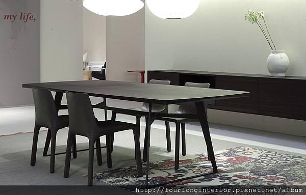 Poliform-Divani-6297RID餐桌01