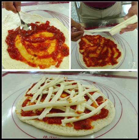 pizza DIY食譜教學