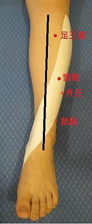 脛前痛穴位
