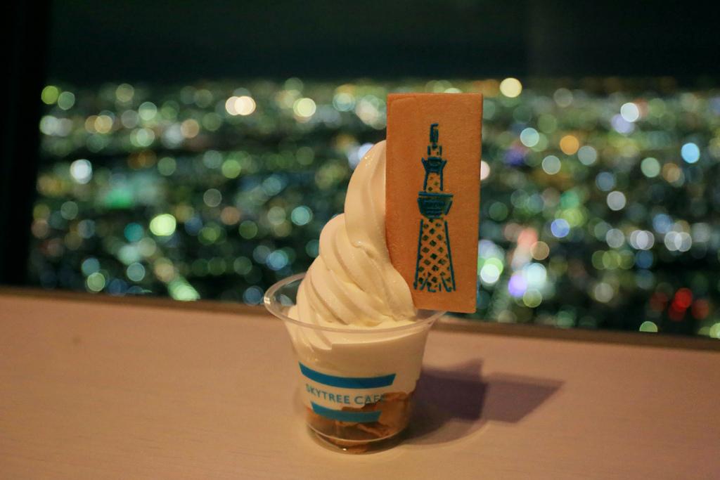 晴空塔冰淇淋