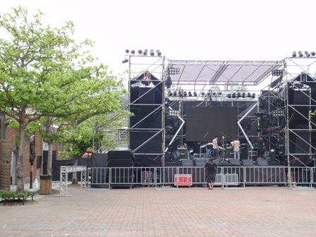 2010大港開唱-舞台