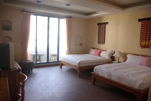 第一天晚上的飯店房間