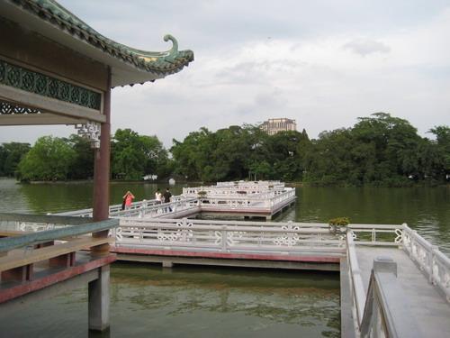 惠州的小西湖之九曲橋