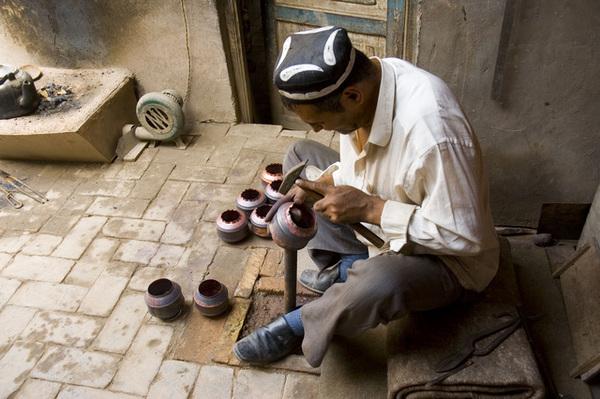 做銅器的工匠