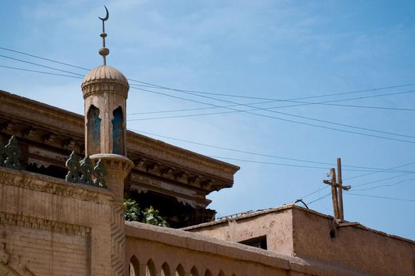 老城內的清真寺