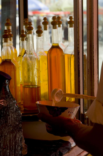 特別推薦〞沙朗刀克〞一種混合蜂蜜酸奶和雪山冰塊的飲料