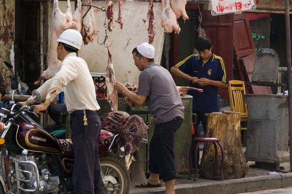 賣羊肉攤販