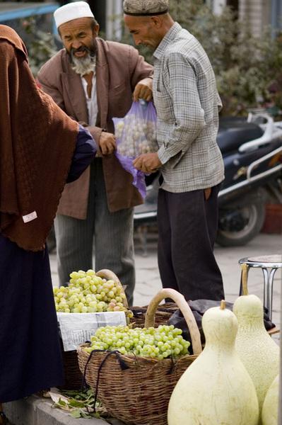 賣水果的小販