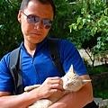 726扎什倫布寺狐狸和貓5.JPG
