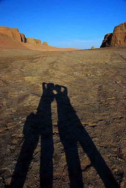 我和楊大姐的影子