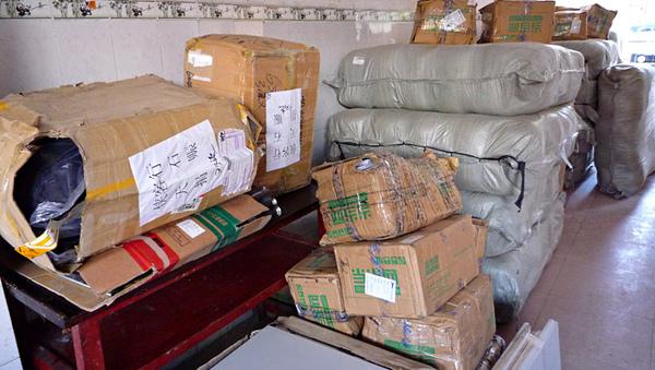 1103到澤蓋小學集中抵達的物資1.JPG