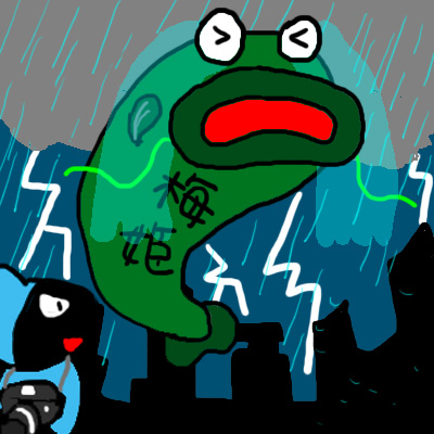梅姬颱風2