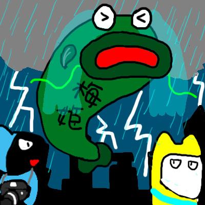梅姬颱風1