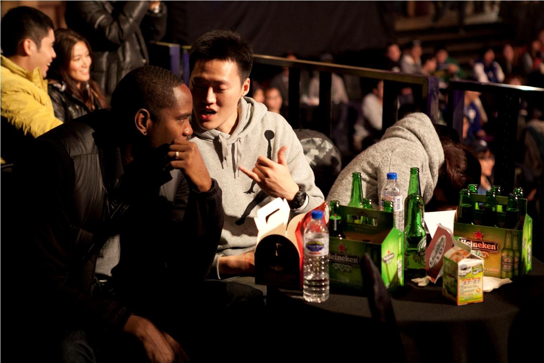 達欣球星岳瀛立、洋將菲立斯,一同參與ESPN衛視體育台NBA開季直播派對.jpg
