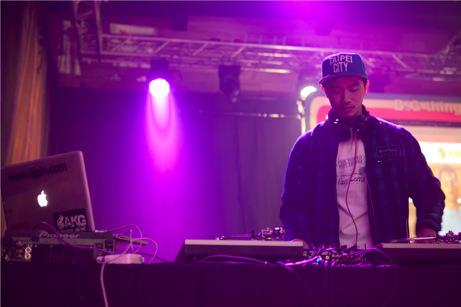 DJ GIN精彩DJ show,引爆ESPN衛視體育台NBA直播派對.jpg