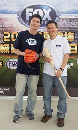 FOX體育台MLB黃金拍檔常富寧、曾文誠