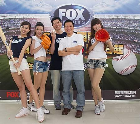 WBC球僮妹化身MLB小粉絲 ,現身FOX體育台主播見面會 03