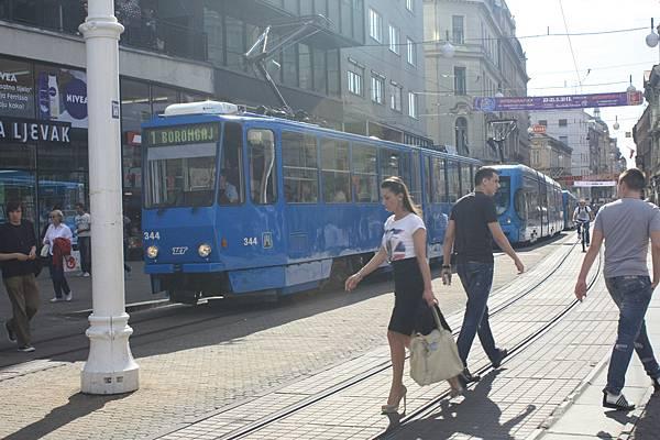 首都Zagreb 街景