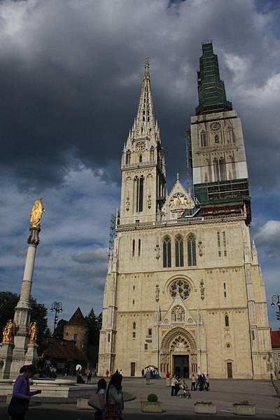 Zagreb的大教堂