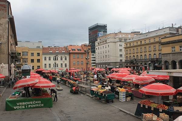 Zagreb的市集