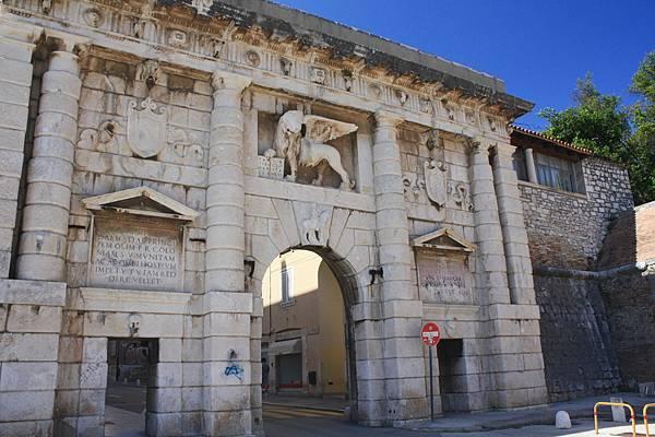 Zadar古城門