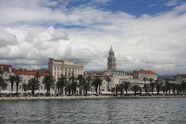 Split的海岸第一排