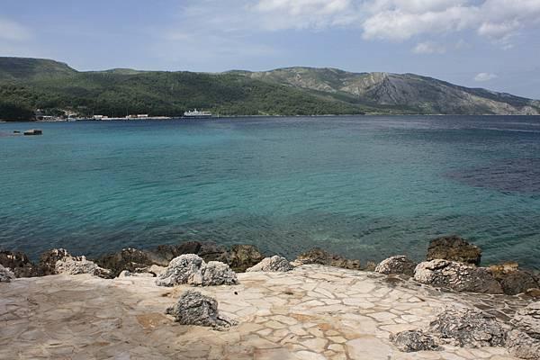 亞德里亞海清澈的海水