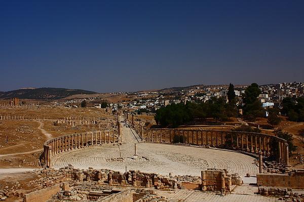 Jerash-羅馬遺跡。